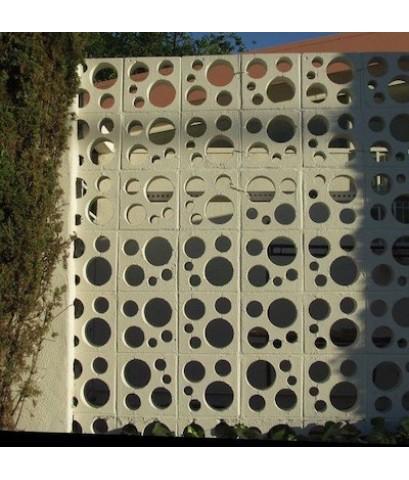 บล็อคช่องลมบัมเบิ้ล ขนาด 19 x 19 x 9 cm