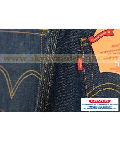 กางเกงยีนส์ Levis 501 New Straight Jeans Original Dark Blue ไซต์ 28 ถึง 46 คลิก..