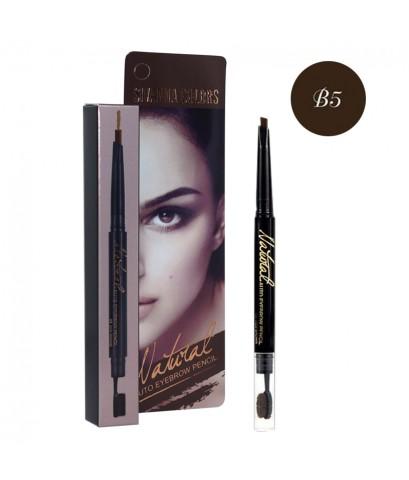 Sivanna Colors Natural Automatic Eyebrow Pencil ดินสอเขียนคิ้วออโต้ B5 ราคาส่งถูกๆ W.40 รหัส K186