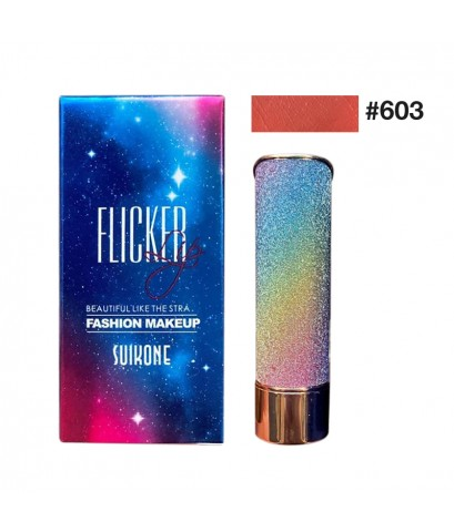 Flicker Lip Beautyful Like The Star No.603 ราคาส่งถูกๆ W.55 รหัส L600-3