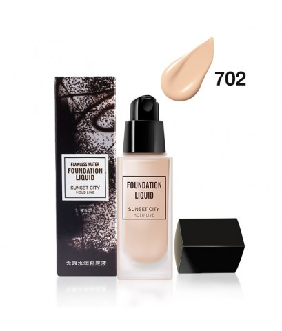 HOLD LIVE Flawless water Foundation Liquid Sunset City No.702 ราคาส่งถูกๆ W.130 รหัส F17-2