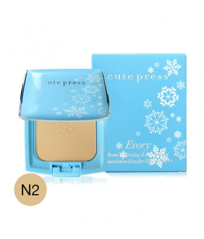 Cute Press EVORY Snow Whitening  Oil Control Foundation SPF 30 PA++ N2 w.55 รหัส MP497-2