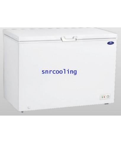 ตู้แช่แข็งฝาทีบ โช๊คอัพ Sanden Intercool รุ่น SCF-0365 (12.4 คิว)