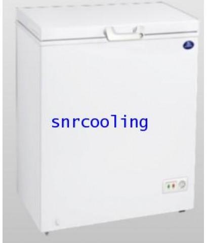 ตู้แช่แข็งฝาทีบ โช๊คอัพ Sanden Intercool รุ่น SCF-0165 (5.3 คิว)