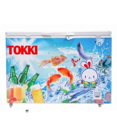 ตู้แช่เนื้อสด TOKKI ต๊อกกี่ TKC-109B ขนาด 9 คิว  -8 องศา แสดงผลด้วยตัวเลข Digital