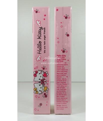 Hello Kitty ทวินแองเจิล ซิมเมอร์ ลิปกลอส (Lip Gloss) No.07 (สีชมพู) {ลดกระหน่ำ..ราคาถูกสุดๆๆ !!}