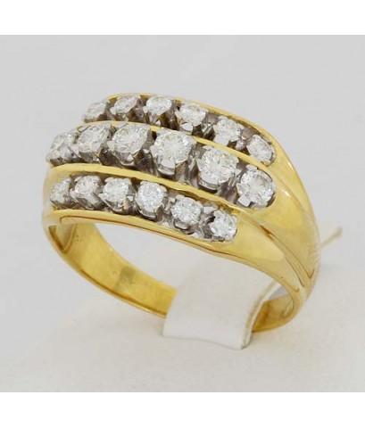 แหวนเพชรทองคำ14K