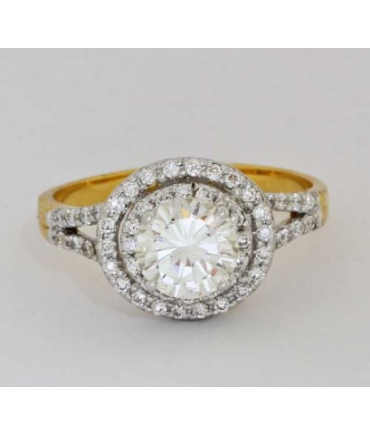 แหวนเพชรทองคำ18K