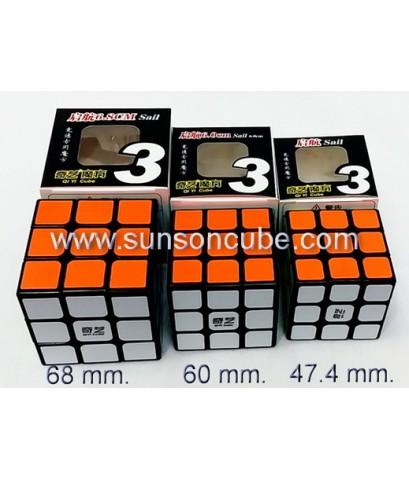 3x3x3 QiYi QiHang ( Sail ) 60 mm. - Black