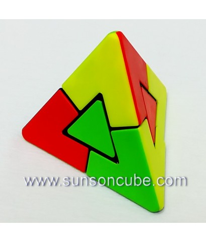 Dual Pyraminx - Lefun / Body color
