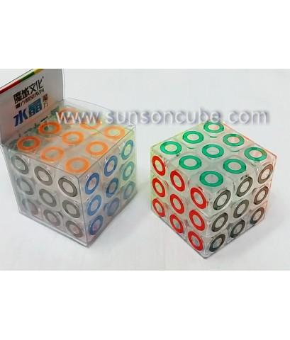 3x3x3 Cystal cube  - MFJS / Body color