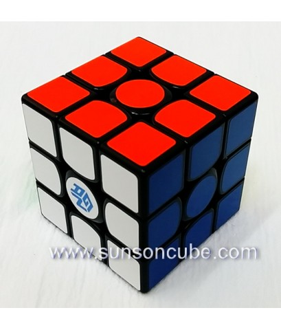 3x3x3 GAN 356X numberical IPG - Magnetic  / (ฺBlack)