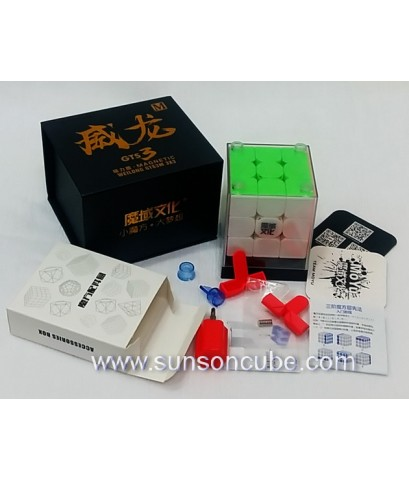 3x3x3 Moyu Weilong GTS3 - LM  / Stickerless