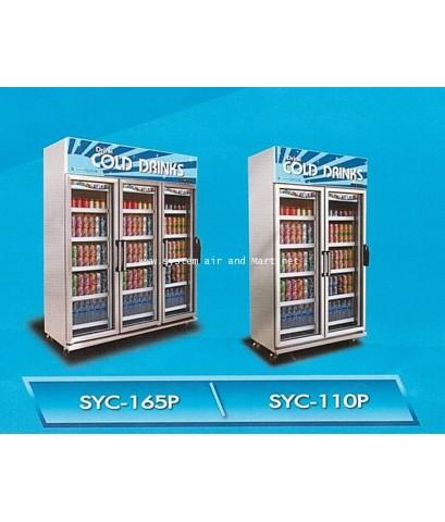 ตู้แช่เย็นกระจก 3 ประตู SANDEN รุ่น SEC-N1500SBD