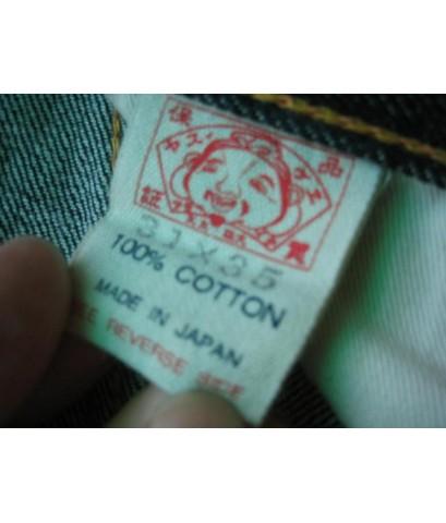 [ขายแล้ว]กางเกงยีนส์ EVISU ริมแดง~รุ่นผลิตญี่ปุ่น Made in JAPAN ค่ะ กระเป๋าเหลือง mark สีแดง ไซส์ 31