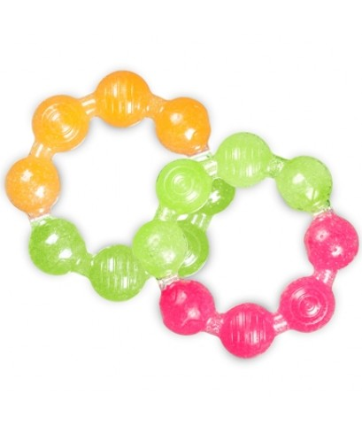 Munchkin : MNK43486 ยางกัด Fun Ice Ring Teether - 2pk