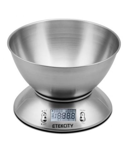 Etekcity : ETCHOHLKD03E* เครื่องชั่งน้ำหนักอาหาร 11lb/5kg Digital Kitchen Food Scale