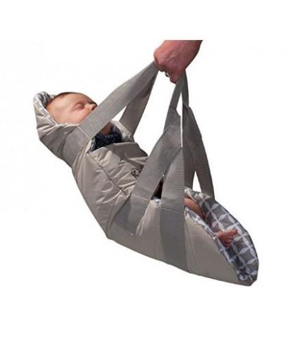 KIDCO : KDCTR5101* ถุงผ้าสำหรับห่อตัวเด็ก SwingPod - Gray