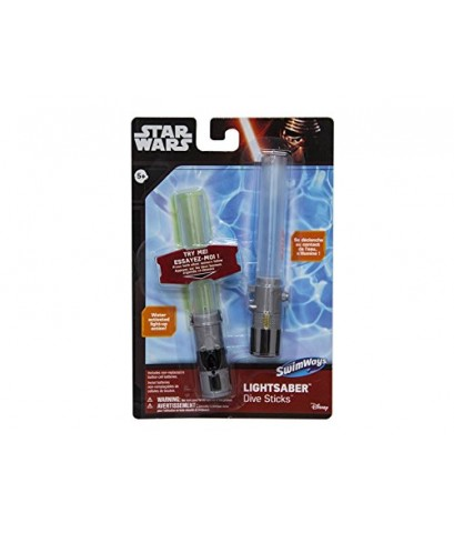 Swim Ways : SWY29005* ของเล่นในสระน้ำ Star Wars Light-up Lightsaber Dive Sticks