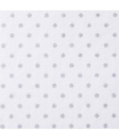 HALO Bassinest : HLB10723* ที่นอนเด็ก Swivel Sleeper Fitted Sheet 100 Cotton, Grey Pin Dot