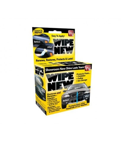 Wipe New : WNEWN6PCMSTRRT* น้ำยาทำความสะอาดรถยนต์ Trim Restorer