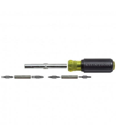 Klein Tools : KLT32500* ไขควง 11-in-1 Screwdriver and Nut Driver