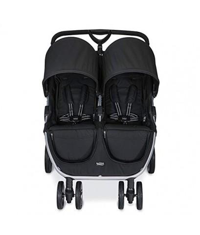 Britax : BRTU791896* รถเข็นเด็กแฝด B-Agile Double Stroller