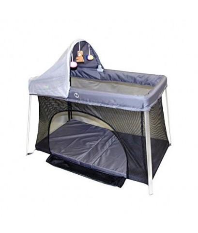 ElanBambino : EBBAMZ001* เตียงเด็กพกพา Portable Crib - Front And Top Baby Access