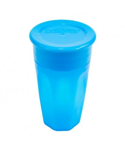 Dr.Brown\'s : DRBTC01040 ถ้วยหัดดื่ม Cheers 360 Cup , 10oz. Blue