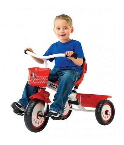 Schwinn : SCWS6743* รถจักรยานสามล้อ Easy Steer Tricycle, Red/White