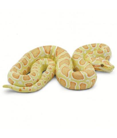 Safari Ltd. : SFR100250 โมเดล Albino Burmese Python