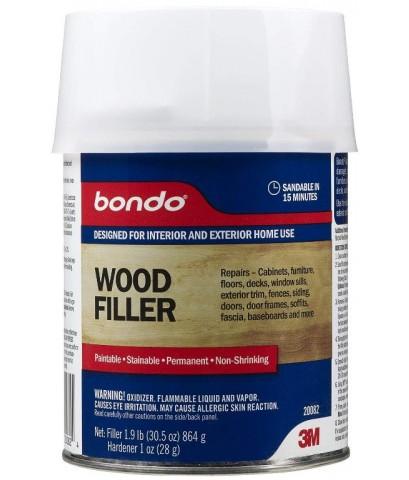 3M : 3M20082* น้ำยาฟื้นฟูและเคลือบไม้ Bondo Home Solutions Wood Filler