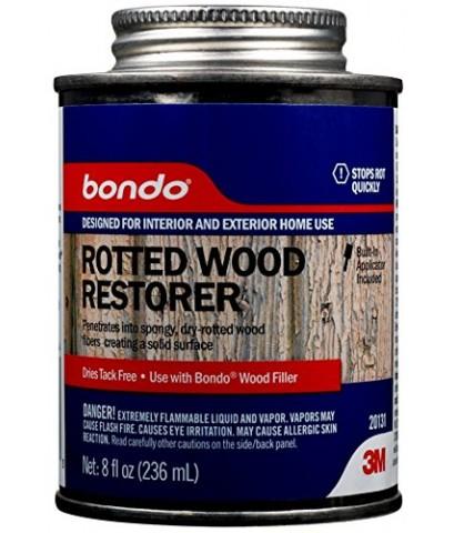3M : 3M20131* น้ำยาฟื้นฟูผิวไม้ Bondo Rotted Wood Restorer 8oz.