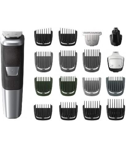 Philips : PILMG5750-49* ทีกำจัดขนไฟฟ้า Norelco Multi Groomer Series 5000, 18 pcs
