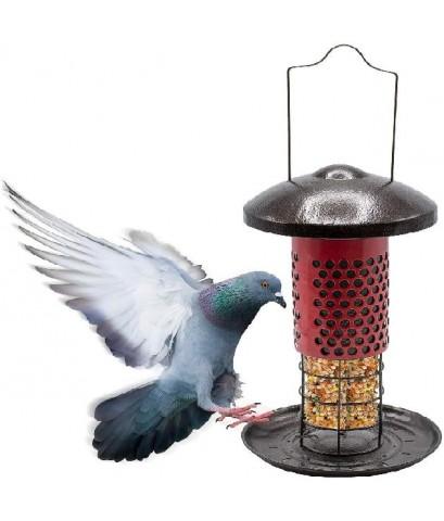 Sorbus : SRBGRDN-TU2IN1A* ที่ใส่อาหารนก Bird Feeder  2-in-1 Circular Sliding