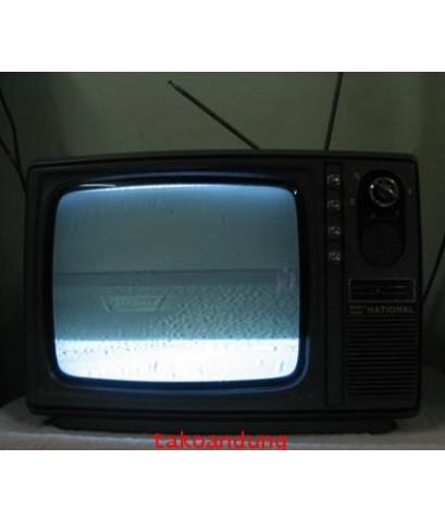 ของเก่า ของสะสม ทีวี ขาว-ดำ เนชั่นแนล