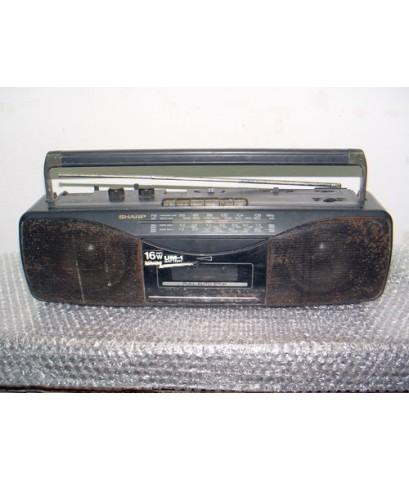 Sharp QT-259 วิทยุ-เทปหูหิ้ว