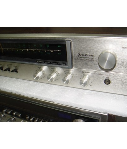 Receiver Tanin TFR-2244 วิทยุธานินทร์ ระบบ Stereo Multiplex 50+50 Watt