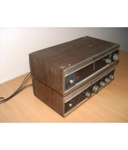 ชุดเครื่องเสียงโบราณ STANDARD ใช้งานได้ปกติ เสียงดี Made in Japan