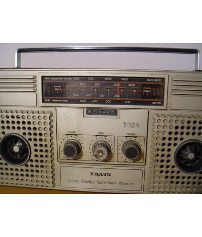 Tanin T-124 วิทยุธานินทร์ ใช้งานได้ปกติ รับฟังชัดเจน