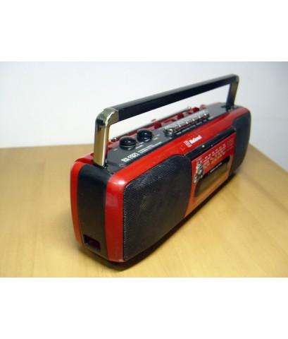 วิทยุ-เทปโบราณ National Stereo Mpx RX-FS21 ใช้งานได้ปกติทุกระบบ สภาพสวย