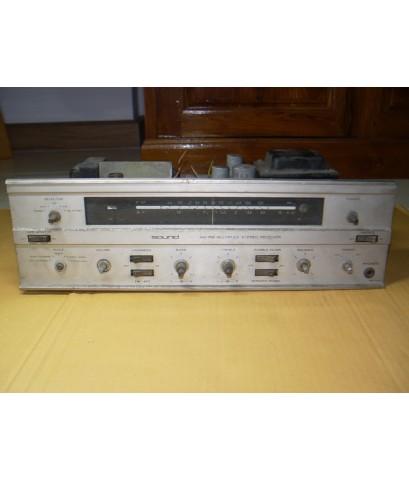 Receiver หลอดFM/AM Multiplex Stereo ยี่ห้อSOUND รุ่นSAT-300X JAPAN สำหรับเอาไปซ่อม ตามสภาพ