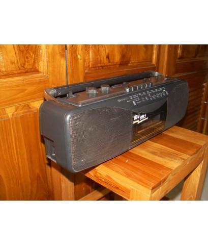 วิทยุ-เทปหูหิ้ว Sharp QT-259Z Stereo เทปใช้ได้