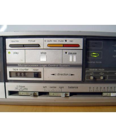เทป DECK TECHNICS RS-B48R ระบบ3มอเตอร์ AUTO-REVERSE ใช้งานได้ปกติ เสียงดีมาก