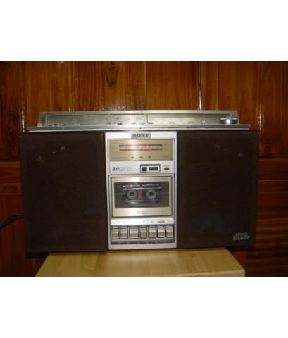 วิทยุ SONY CFS-85s Stereo วิทยุโซนี่ ZILBAPใช้งานได้ปกติทุกระบบ เสียงดีมาก