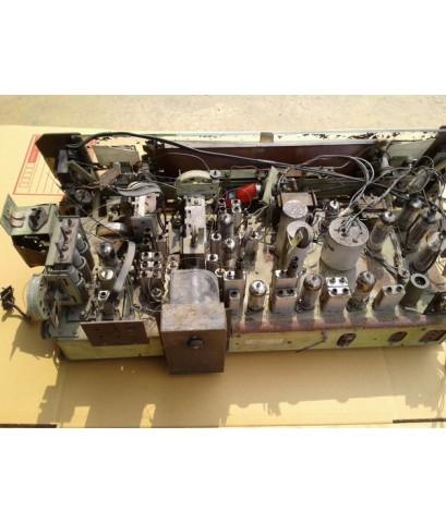 ซากวิทยุหลอด Philips AM/FM/SW อุปกรณ์เดิมและหลอดอยู่ครบ สภาพดีไม่เป็นสนิม