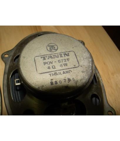 ลำโพง TANIN Full range 4 Ohms 4 Watt ใช้งานได้ปกติ เสียงดีมาก