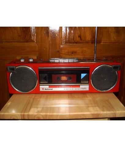 วิทยุเทป National FM15 ใช้งานได้ปกติทุกระบบ