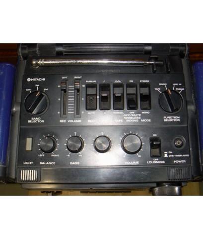วิทยุHITACHI TRK-9150W ใช้งานได้ปกติทุกระบบ เสียงดีมาก