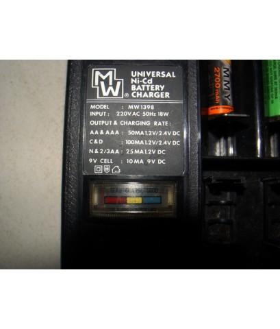 เครื่องชาร์จถ่าน Battery Charger Universal ได้ทุกขนาด